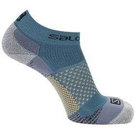 Salomon Cross Socks 2 Pack, slate/dark denim